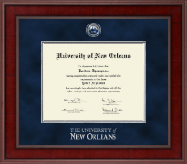 University of New Orleans Diploma Frame - Presidential Masterpiece Diploma Frame in Jefferson
