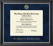 Our Lady of the Lake University Diploma Frame - Regal Edition Diploma Frame in Noir