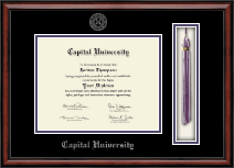 Capital University Diploma Frame - Tassel Edition Diploma Frame in Southport