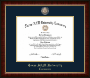 Texas A&M University - Commerce Diploma Frame - Masterpiece Medallion Diploma Frame in Murano