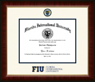 Florida International University Diploma Frame - Dimensions Diploma Frame in Murano
