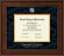 Grand Canyon University Diploma Frame - Presidential Masterpiece Diploma Frame in Madison