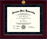 Arizona State University Diploma Frame - Millennium Gold Engraved Diploma Frame in Cordova