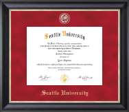 Seattle University Diploma Frame - Regal Edition Diploma Frame in Midnight