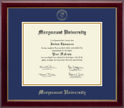 Marymount University Diploma Frame - Gold Embossed Diploma Frame in Gallery