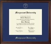 Marymount University Diploma Frame - Gold Embossed Diploma Frame in Studio