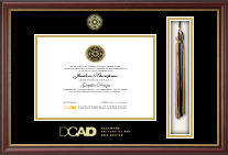 Delaware College of Art and Design Diploma Frame - Tassel Edition Diploma Frame in Newport