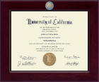University of California Los Angeles Diploma Frame - Century Masterpiece Diploma Frame in Cordova