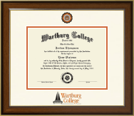 Wartburg College Diploma Frame - Dimensions Diploma Frame in Westwood