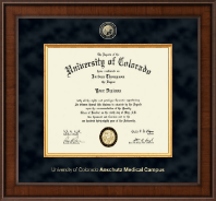 University of Colorado Anschutz Medical Campus Diploma Frame - Presidential Masterpiece Diploma Frame in Madison