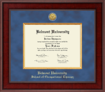 Belmont University Diploma Frame - Presidential Masterpiece Diploma Frame in Jefferson
