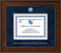 American Association of Airport Executives Certificate Frame - Presidential Masterpiece Certificate Frame in Madison
