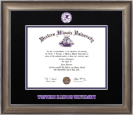 Western Illinois University Diploma Frame - Dimensions Diploma Frame in Easton