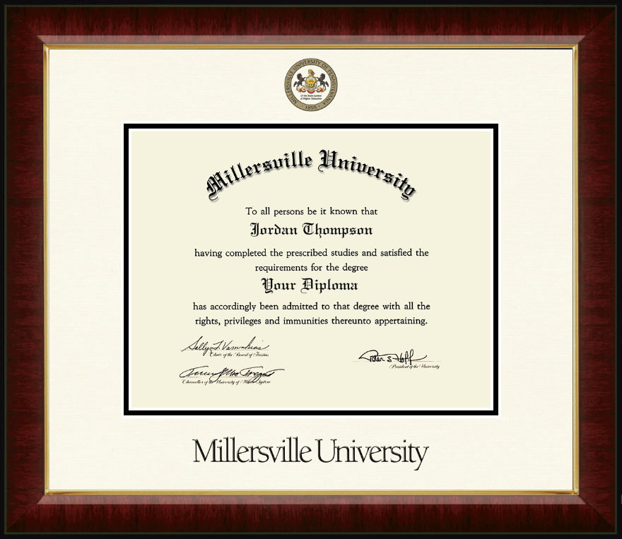 what is the size of a college diploma