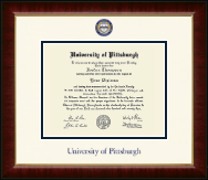 University of Pittsburgh Diploma Frame - Dimensions Diploma Frame in Murano