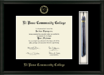 El Paso Community College Diploma Frame - Tassel Edition Diploma Frame in Omega