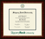 Slippery Rock University Diploma Frame - Dimensions Diploma Frame in Murano
