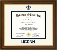 University of Connecticut Diploma Frame - Dimensions Diploma Frame in Westwood