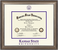 Kansas State University Dimensions Diploma Frame In Easton