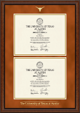 The University of Texas Austin Diploma Frame - Double Diploma Frame in Austin