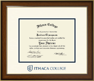 Ithaca College Diploma Frame - Dimensions Diploma Frame in Westwood