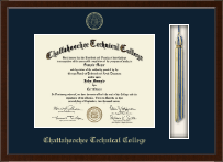 Chattahoochee Technical College Diploma Frame - Tassel Edition Diploma Frame in Omega