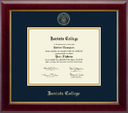 Juniata College Diploma Frame - Gold Embossed Diploma Frame in Gallery