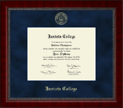 Juniata College Diploma Frame - Gold Embossed Diploma Frame in Sutton