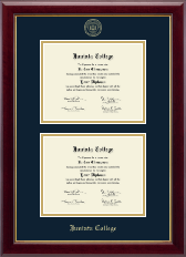 Juniata College Diploma Frame - Double Diploma Frame in Gallery