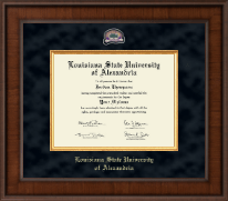 Louisiana State University of Alexandria Diploma Frame - Presidential Masterpiece Diploma Frame in Madison