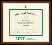 University of North Texas Diploma Frame - Dimensions Diploma Frame in Westwood