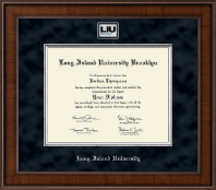 Long Island University - Brooklyn Diploma Frame - Presidential Masterpiece Diploma Frame in Madison