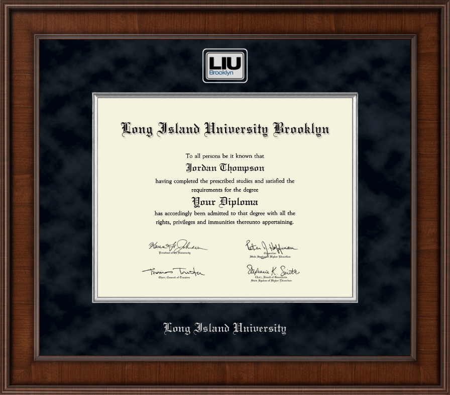 Long Island University - Brooklyn Presidential Masterpiece Diploma ...