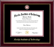 Florida Institute of Technology Diploma Frame - Masterpiece Medallion Diploma Frame in Gallery