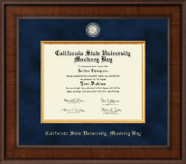 California State University Monterey Bay Diploma Frame - Presidential Masterpiece Diploma Frame in Madison