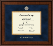 Carleton College Diploma Frame - Presidential Masterpiece Diploma Frame in Madison