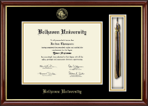 Belhaven University Diploma Frame - Tassel Edition Diploma Frame in Southport Gold