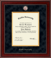 Claflin University Diploma Frame - Presidential Masterpiece Diploma Frame in Jefferson