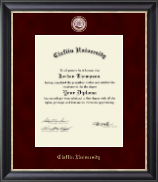 Claflin University Diploma Frame - Regal Edition Diploma Frame in Midnight