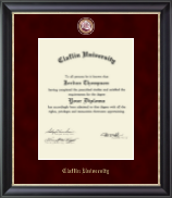 Claflin University Diploma Frame - Regal Edition Diploma Frame in Noir