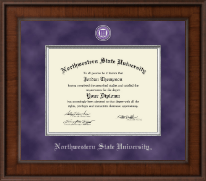 Northwestern State University Diploma Frame - Presidential Masterpiece Diploma Frame in Madison