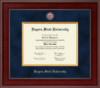 Rogers State University Diploma Frame - Presidential Masterpiece Diploma Frame in Jefferson