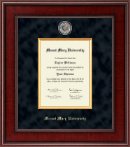 Mount Mary University Diploma Frame - Presidential Masterpiece Diploma Frame in Jefferson