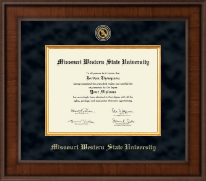 Missouri Western State University Diploma Frame - Presidential Masterpiece Diploma Frame in Madison
