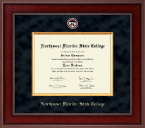 Northwest Florida State College Diploma Frame - Presidential Masterpiece Diploma Frame in Jefferson