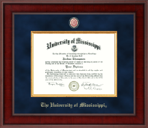The University of Mississippi Diploma Frame - Presidential Masterpiece Diploma Frame in Jefferson