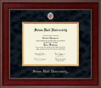 Seton Hall University Diploma Frame - Presidential Masterpiece Diploma Frame in Jefferson