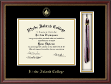 Rhode Island College Diploma Frame - Tassel Edition Diploma Frame in Newport