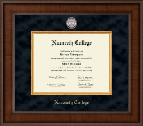 Nazareth College Diploma Frame - Presidential Masterpiece Diploma Frame in Madison