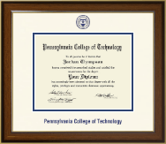 Pennsylvania College of Technology Diploma Frame - Dimensions Diploma Frame in Westwood
